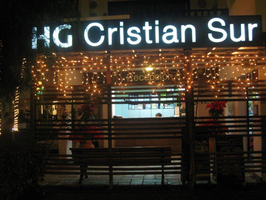 HG CRISTIAN SUR APTS