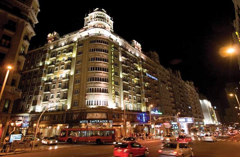 telefono hotel convencion madrid: