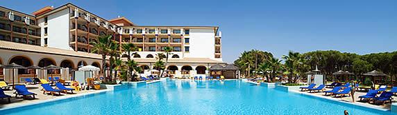 hotel Isla Cristina Palace Hotel & Spa en la población de Isla Cristina